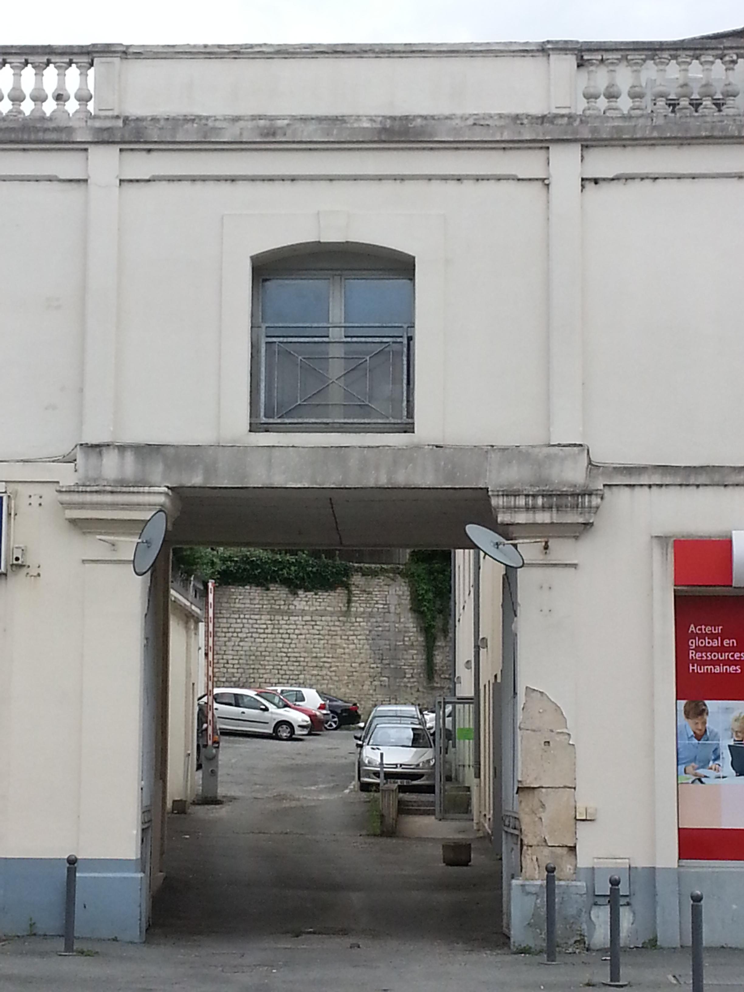 Entrée du CIO de Poitiers - boulevard du Grand Cerf à Poitiers