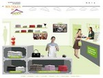 Capture d'écran du site Les métiers du comerce de l'habillement