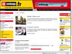 Capture d'écran du site de l'ONISEP
