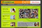 Capture d'écran du site les métiers.net
