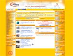 Capture d'écran du site infos métiers