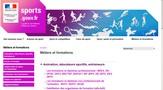 saisie d'écran du site les métiers de l'hôtellerie