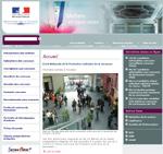 capture ecran site internet ministere de la justice