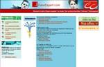 capture écran site internet métier d'expert comptable