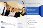 capture écran site internet les métiers des études et du conseil