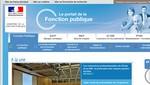 Le site du Ministère de la Fonction Publique